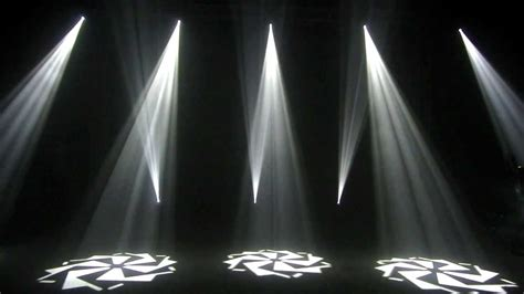 Gobo Light by High Brightness 60w Moving Gobo Light Mov