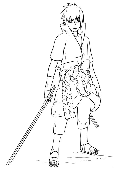 Shippuden Coloring Pages To Print by Free Printable Coloring Pages
