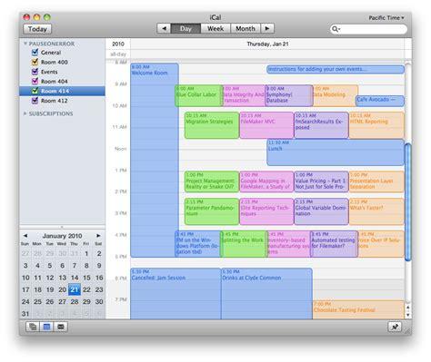 ical google calendar sync filemaker seedcode