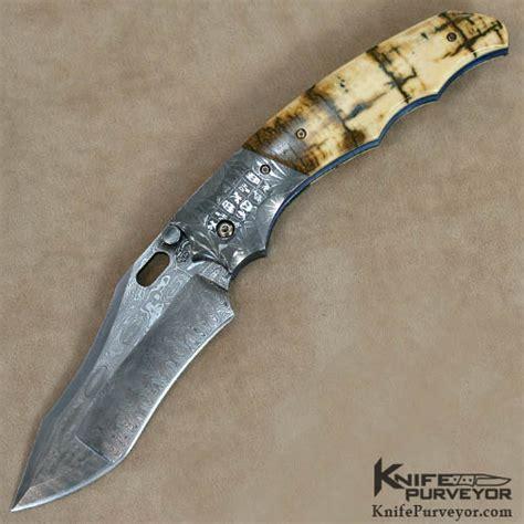 don knives don hanson mosaic damascus linerlock knifepurveyor