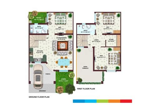 Five Bedroom Floor Plans 5 marla 3 bedroom s house for sale khayaban e amin