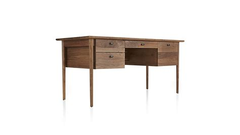 Crate And Barrel Desk by Kendall Walnut Desk Crate And Barrel