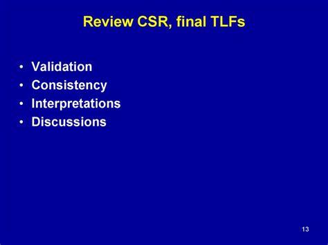 csr study sections csr презентация онлайн