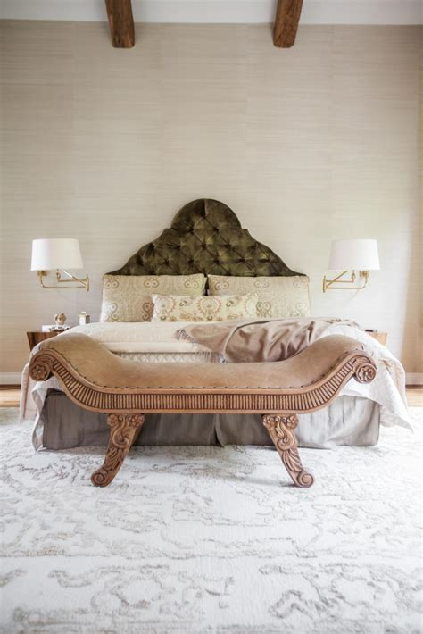 elegant upholstered headboards elegant master bedroom with upholstered green headboard