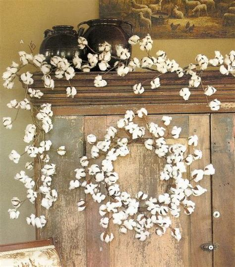 Decorating With Cotton by Picture Of Winter Wreath