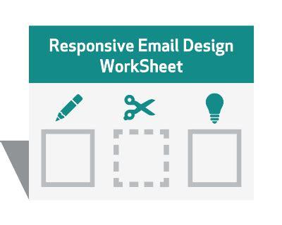 email layout worksheet increasing click throughs worksheet