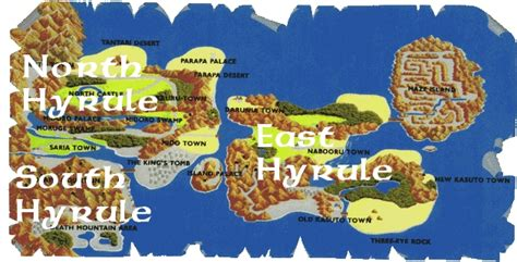 legend of zelda universe map hyrule a geography and cartography zelda universe