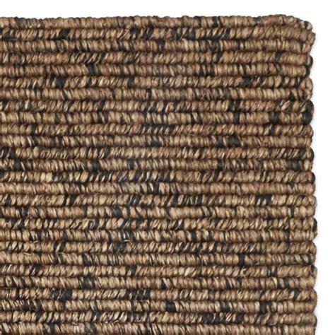 abaca rugs abaca rug brown black williams sonoma