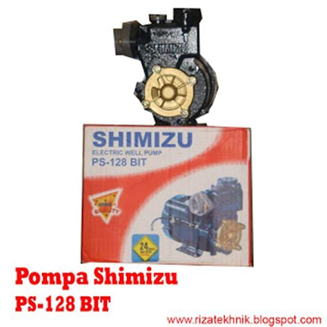 Pompa Air Shimizu Ps 150 Bit Riza Tehnik Pusatnya Pompa Air Price List Pompa Air