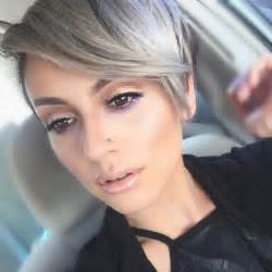 popular trending gray hair colors hot hair color trends 2016 thefashionspot