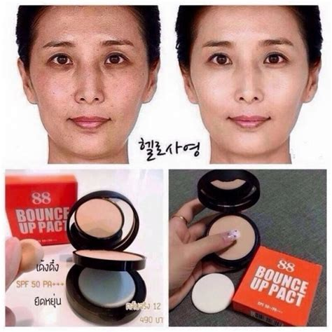 Bedak Dan Foundation Pac bedak bounce up pact ver 88 original