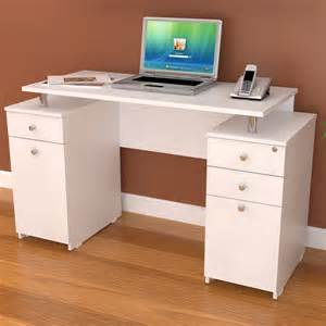 Furniture home office furniture rectangle top writing desk with double