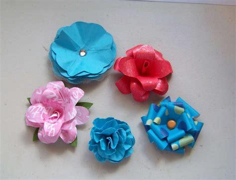fiori in carta come fare fiori di carta crespa semplici beautiful come