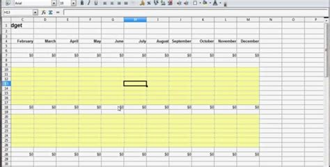 How To Make Your Own Budget Spreadsheet by How To Make Your Own Budget Spreadsheet Buff