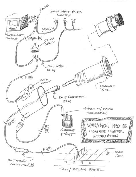 nissan cigarette lighter wiring schematics get free