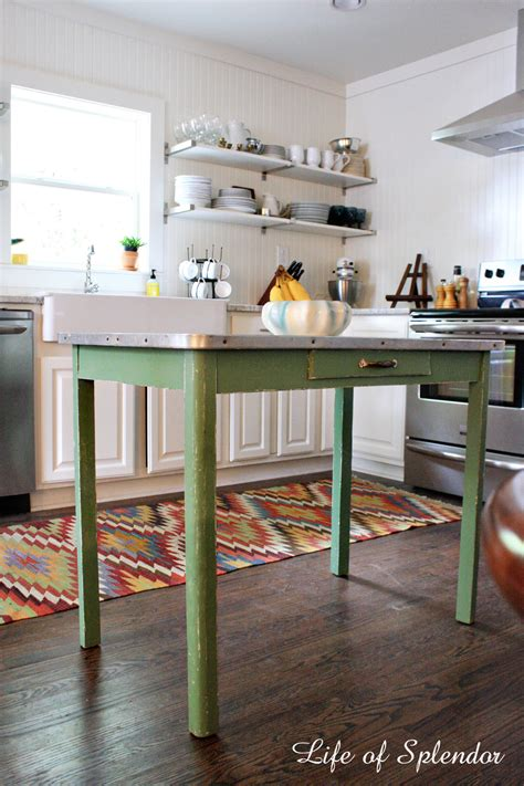 Island Tables For Kitchen by Kitchen Progress Thewhitebuffalostylingco