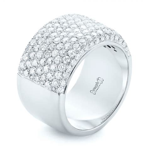 Pave Ring by Custom Pave Fashion Ring 102890