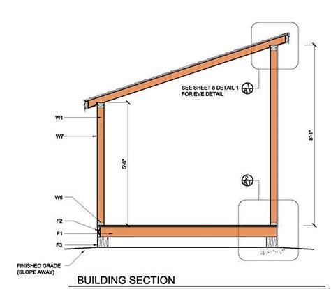 diy lean     lean  lean  shed plans  lean