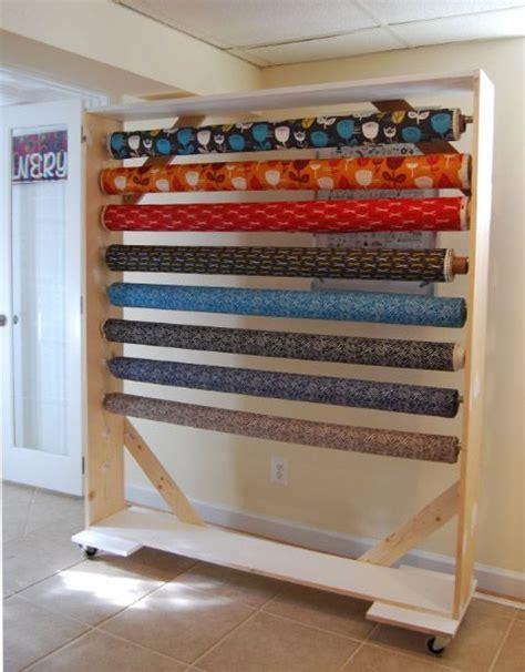 Fabric Rack by Diy Fabric Bolt Storage Rack 2 1 Jpg 480 215 614 Working