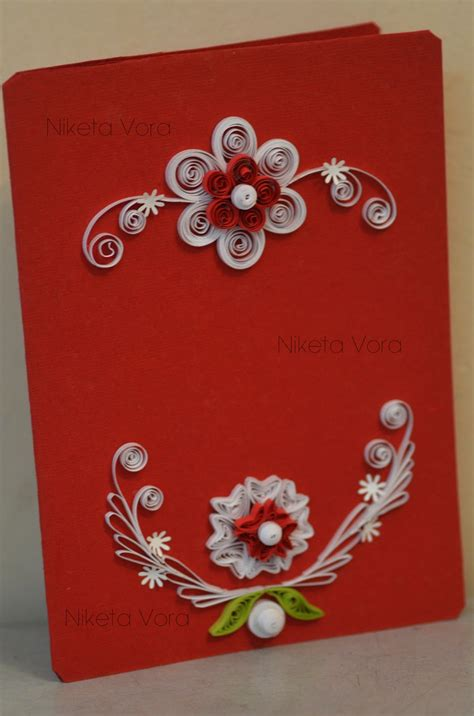 Paper Greeting Cards - niketa s creative corner paper quilling greeting card