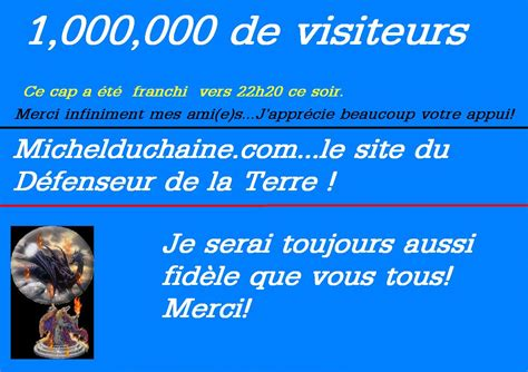 Site I Like Sutoricom by 1 Million De Visites Ce Soir Michelduchaine