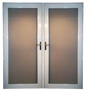 double swing doors aluminum doors