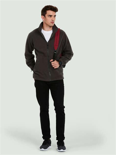 Premium Jaket Fleece Jjaket Sweater 3d product uc601 premium zip micro fleece jacket