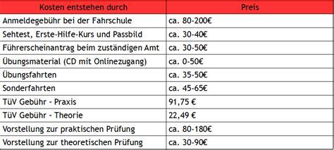 Führerschein Motorrad A1 Kosten by A1 F 252 Hrerschein Kosten 2018