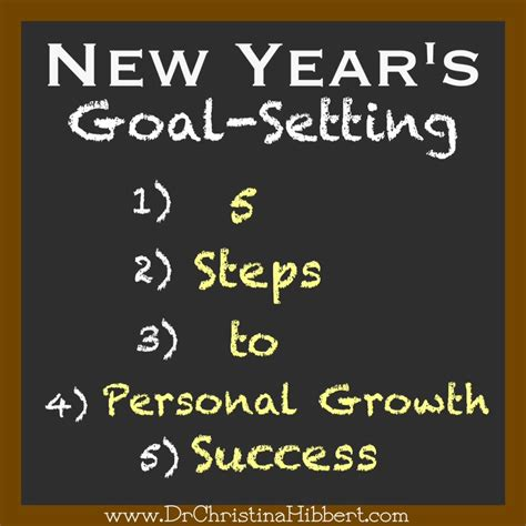 new year goal setting new year s goal setting 5 steps to personal growth