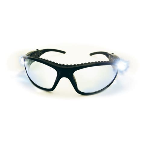 safety glasses with led lights led inspectors safety glasses with ultra bright light pair
