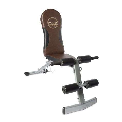 cap barbell fitness fid bench 5 best adjustable fitness bench great addition to your