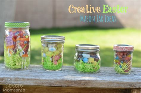 Unique Giveaway Ideas - creative easter mason jar ideas a giveaway eclectic momsense