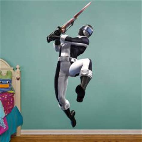 power ranger wall stickers power rangers black decal wall sticker home decor boys removable vinyl ebay