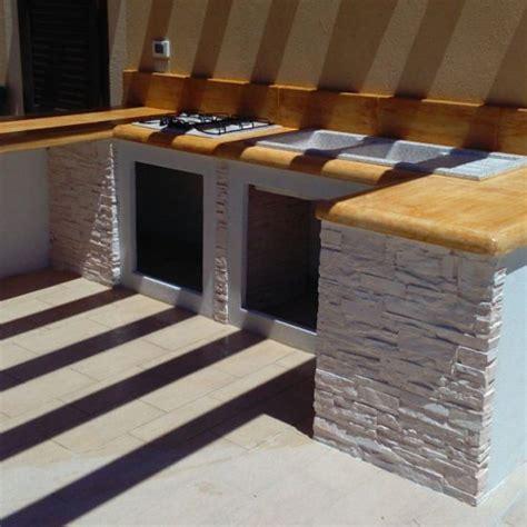 piani cottura in muratura fabulous cucina da esterno mod ouk miccich with piano