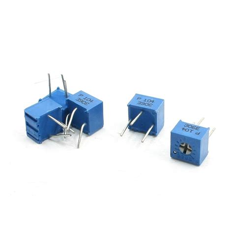 variable resistor reading 5 pcs 100k ohm trimpot trimmer pot variable resistor potentiometer ps