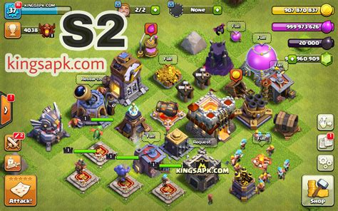 download game coc mod apk free clash of soul cos darksoul privat server mod apk v9 24