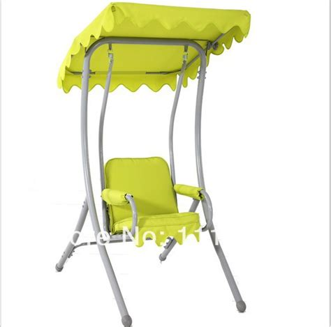 single swing chair with stand roomble gbg single swing