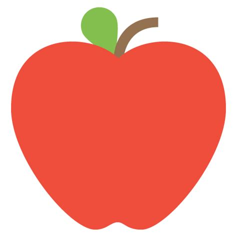 apple emoji red apple emoji for facebook email sms id 355