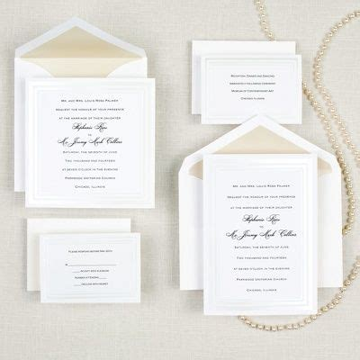 Simple Gold Wedding Invitations by 25 Best Ideas About Classic Wedding Invitations On