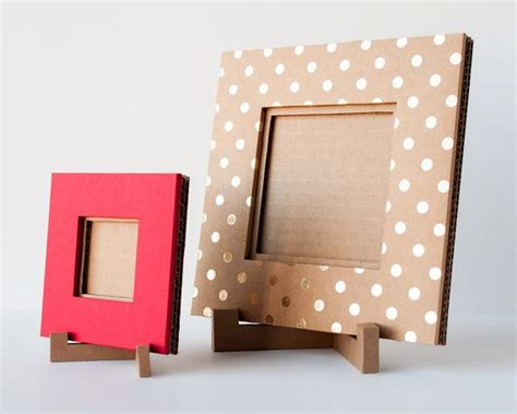 Handmade Paper Photo Frames - best 25 cardboard picture frames ideas on