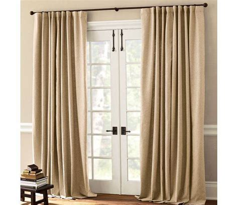 how to hang curtains on french doors lace and curtains the best window treatment for french