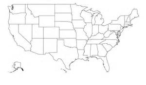 map of the united states including alaska and hawaii with