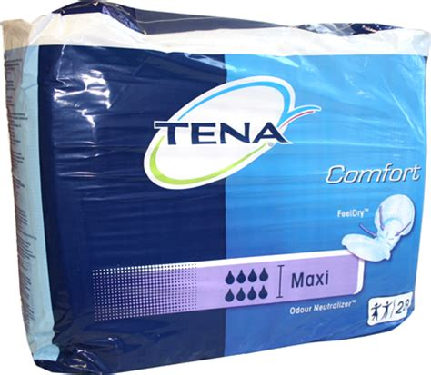 Tena Comfort Maxi Pads by Cheap Tena Compare Prices At The Comparestoreprices Co Uk Website