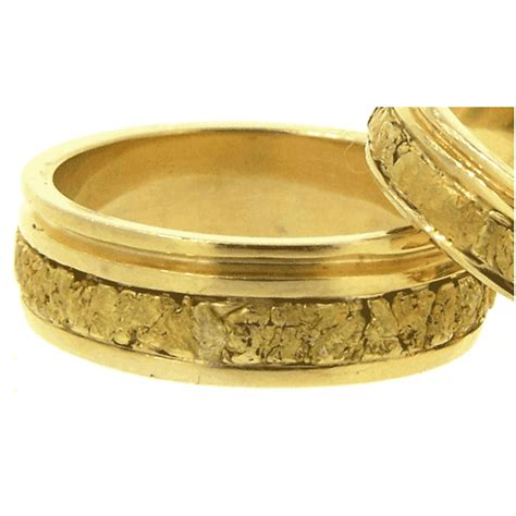 s and s alaskan gold nugget wedding bands www