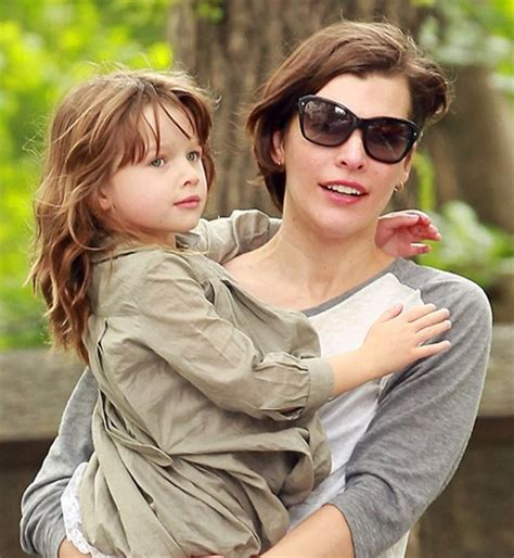 milla jovovich daughter milla jovovich family tree father mother name pictures