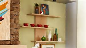 How To Build Wall Bookshelves by Open Shelving