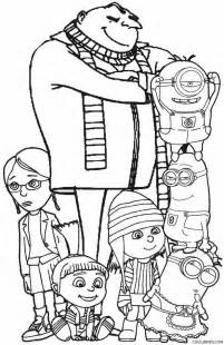 despicable me coloring pages printable despicable me coloring pages for cool2bkids