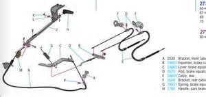 Brake Line Diagram 1967 Mustang 1966 Mustang Parking Brake Diagram Pictures To Pin On