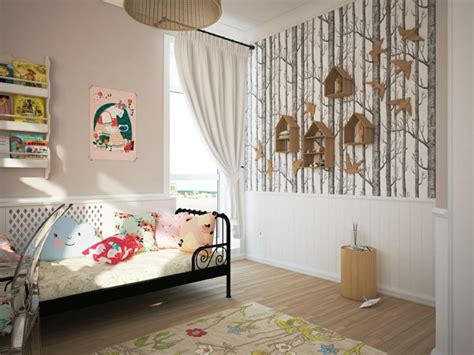 wallpaper childrens room wallpaper kids room big and small in love with such walls fresh design pedia