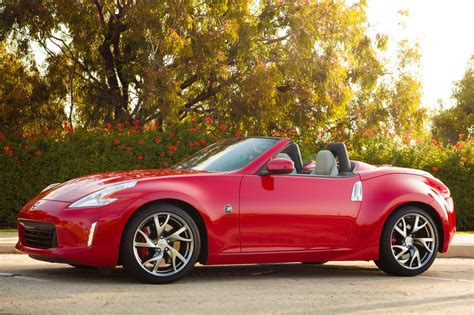 nissan convertible 2017 nissan 370z convertible pricing for sale edmunds